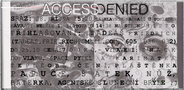 pozvánka na výpravu access denied